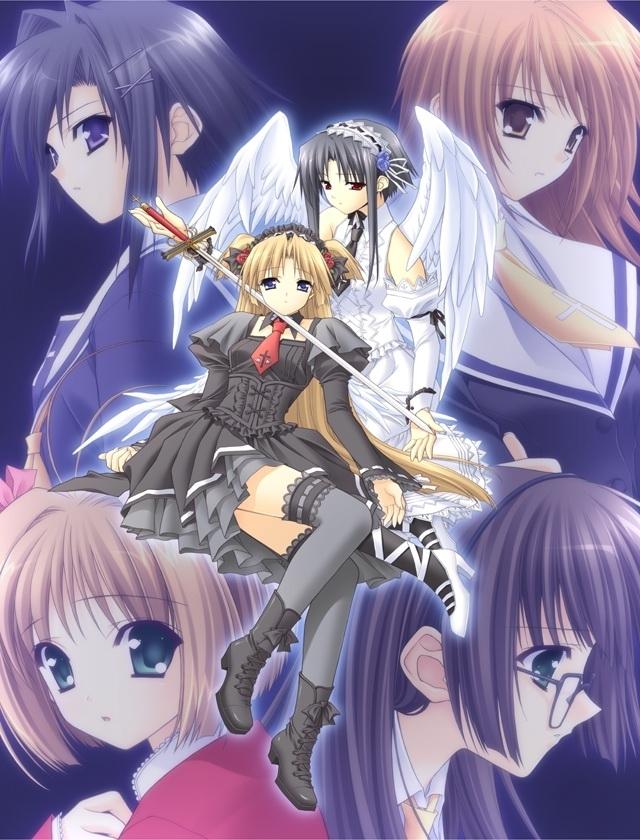 Tags: Anime, Monochrome (VN), Yun, Sayaka Matsuzawa, Hinamina, Risa Tsubaki, Chitose Kirioka