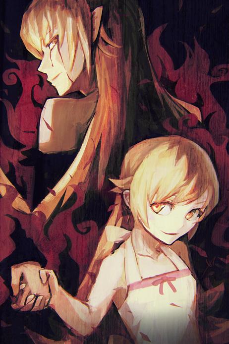 Oshino Shinobu Mobile Wallpaper Zerochan Anime Image Board