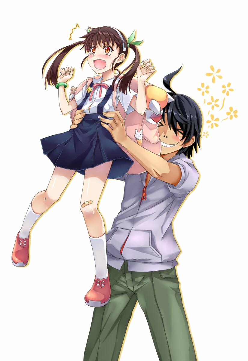 Monogatari Mobile Wallpaper 946480 Zerochan Anime Image