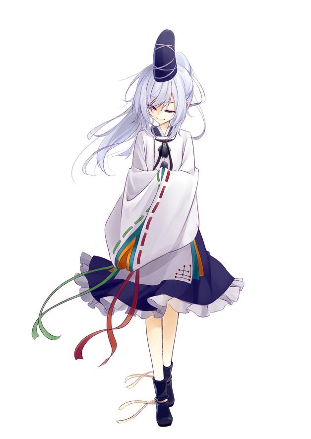 Tags: Anime, Matsuyama Nozomu, Touhou, Mononobe no Futo, Pixiv, Mobile Wallpaper, Fanart, Fanart From Pixiv