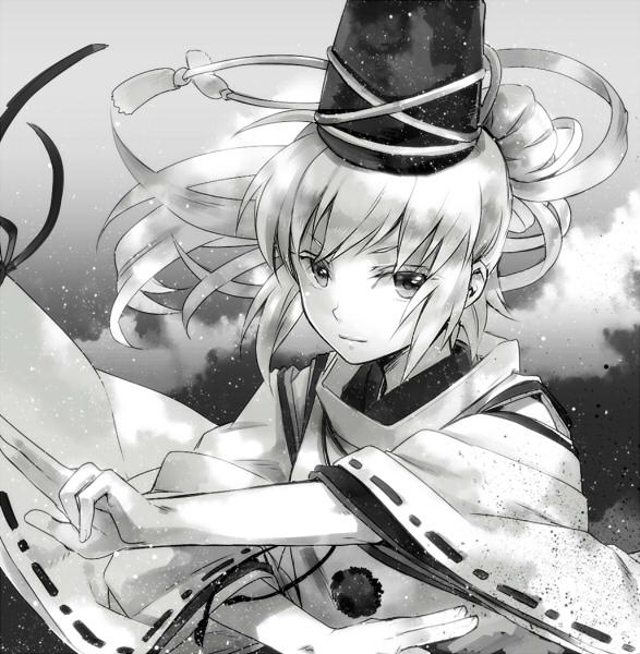 Tags: Anime, Miyuki Ruria, Touhou, Mononobe no Futo, Fanart