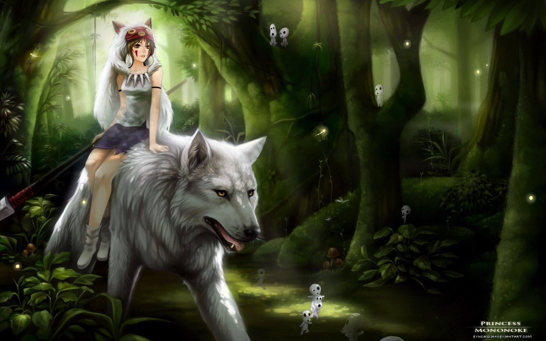 31 Princess Mononoke HD Wallpapers   Backgrounds - Wallpaper Abyss