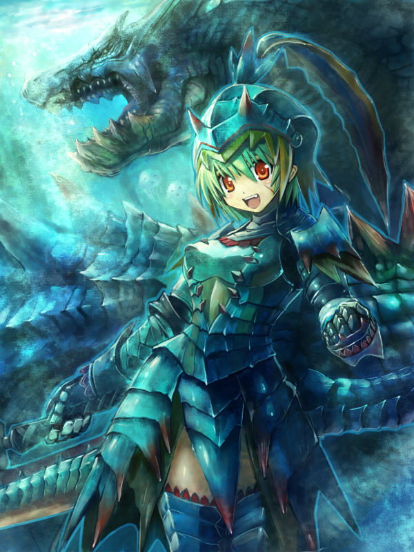 Lagiacrus Monster Hunter Series Zerochan Anime Image Board
