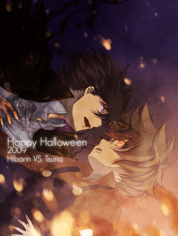 Tags: Anime, Kanonloli, Katekyo Hitman REBORN!, Monster Tamer Tsuna, Hibarin, Hibari Kyoya, Sawada Tsunayoshi, Monster Tamer Tsuna (Character), VS, Fanart, deviantART