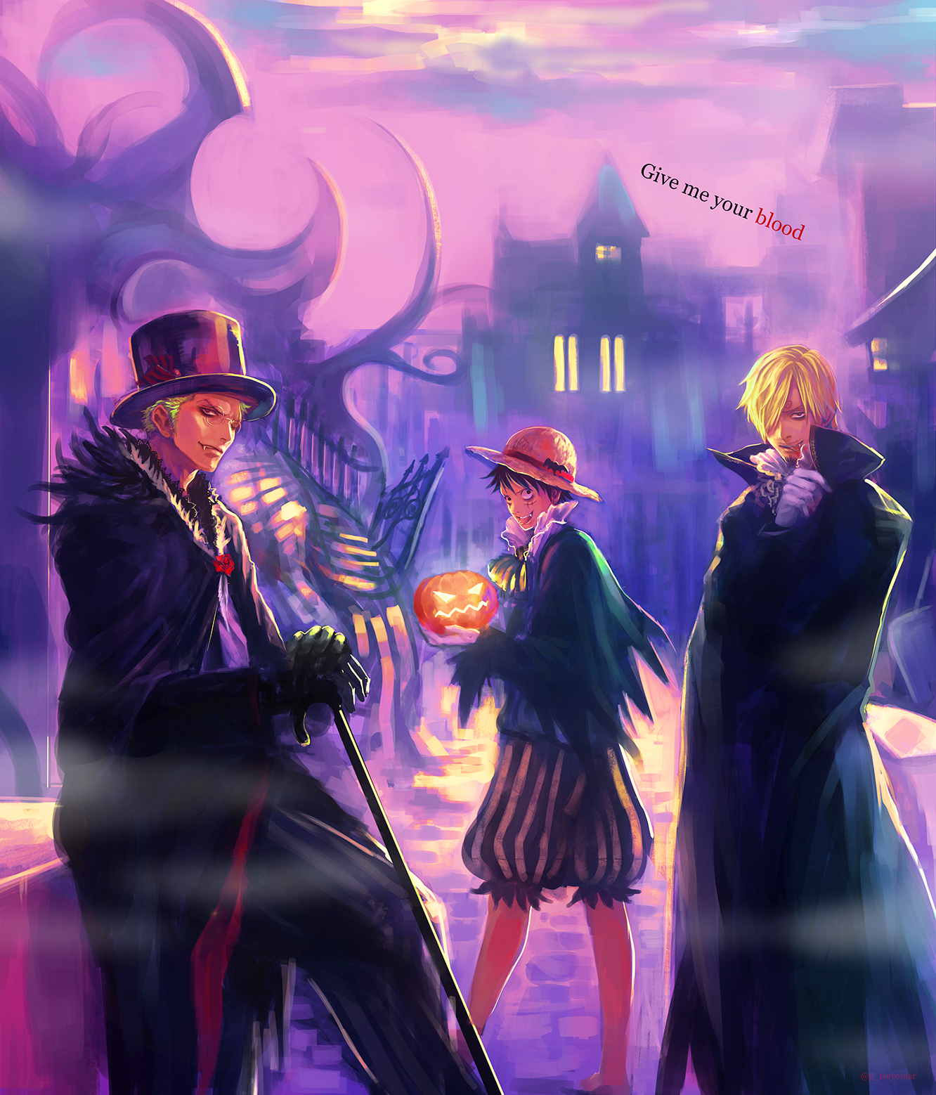 Monster Trio One Piece Zerochan Anime Image Board