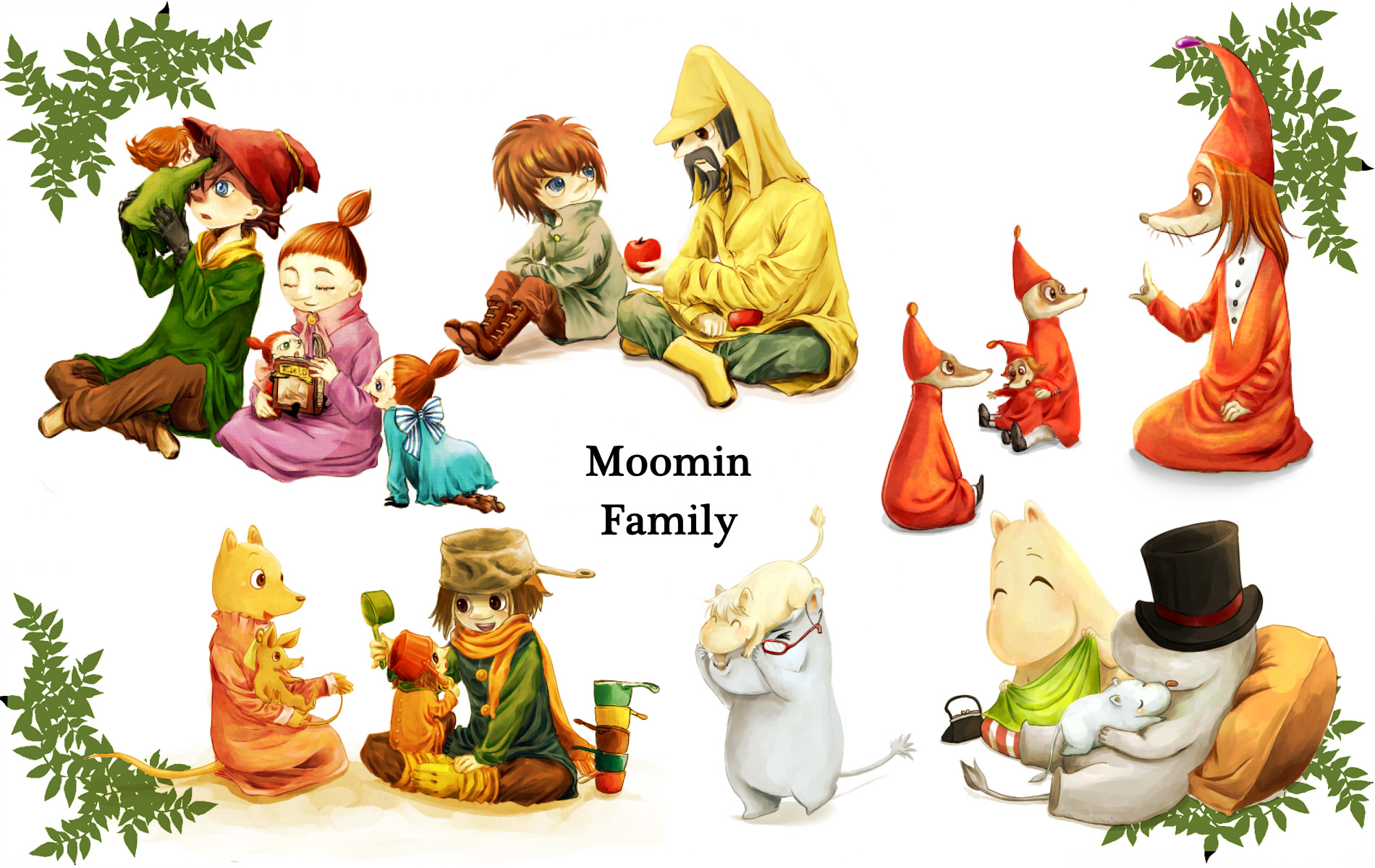 Request: Sniff From The Moomins by kammakitty on DeviantArt
