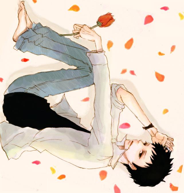 Tags: Anime, Pixiv Id 580477, Ouran High School Host Club, Morinozuka Takashi, Tulip, Fanart From Pixiv, Fanart, Pixiv