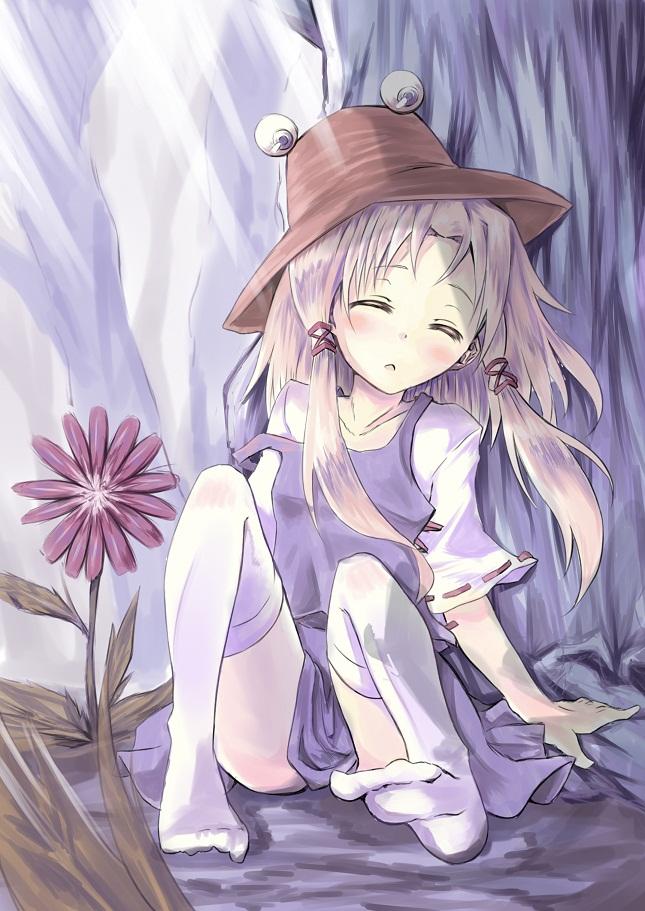 Tags: Anime, Touhou, Moriya Suwako, Under A Tree, Suwako Moriya