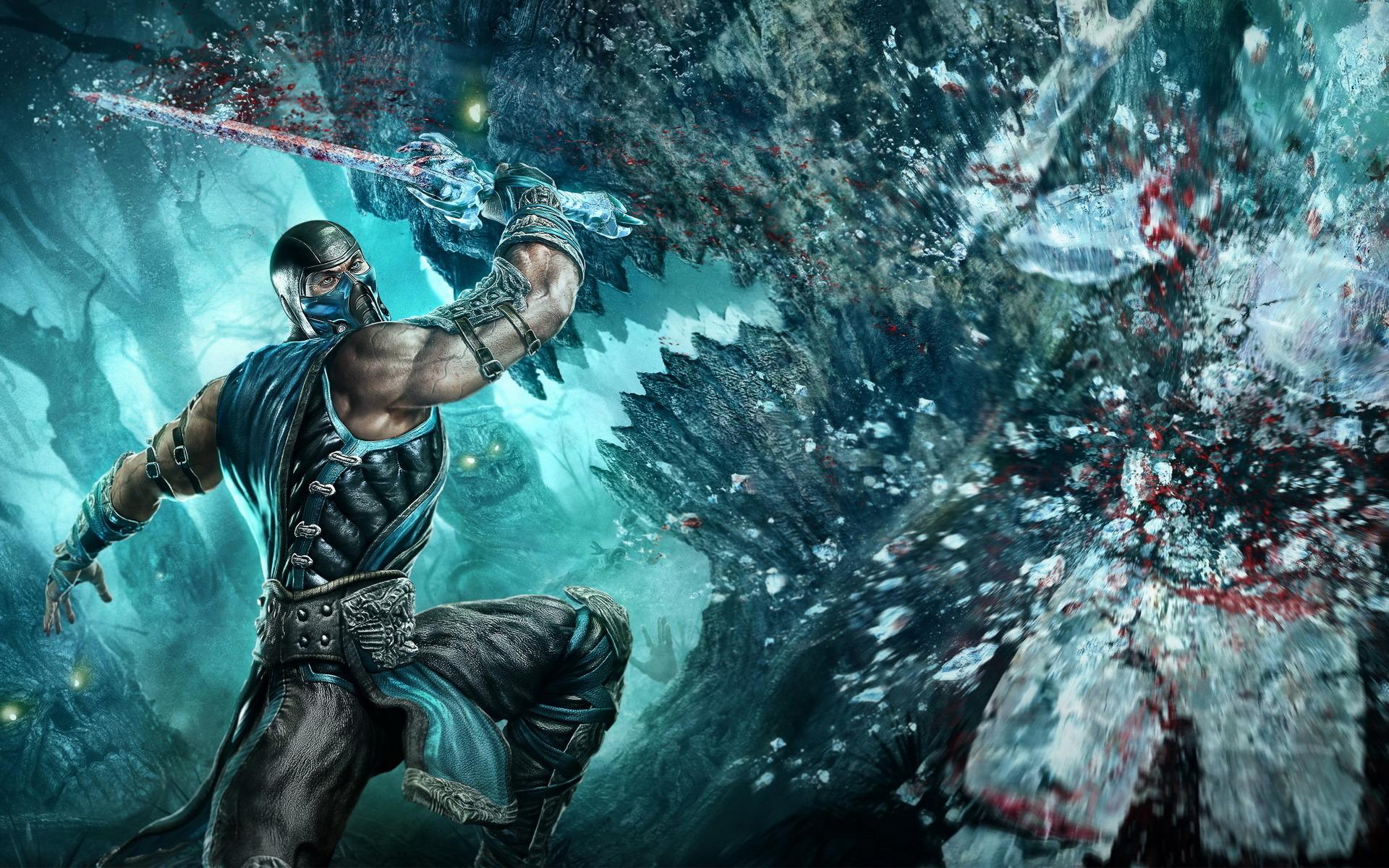Tags Anime Mortal Kombat Sub Zero Wallpaper