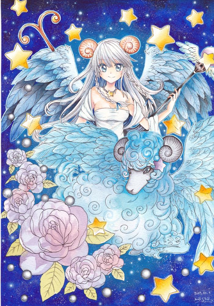 wallpaper of anime girl