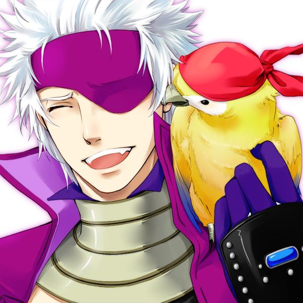 Tags: Anime, Kohn-nz, Sengoku Basara, Motochika Chosokabe (Sengoku Basara), Pirate, Portrait, Bandana