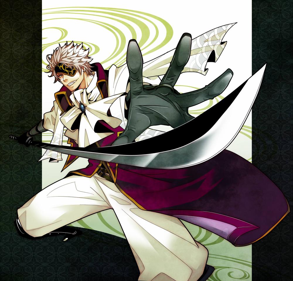 Download Anime Basara: Motochika Chosokabe (Sengoku Basara)