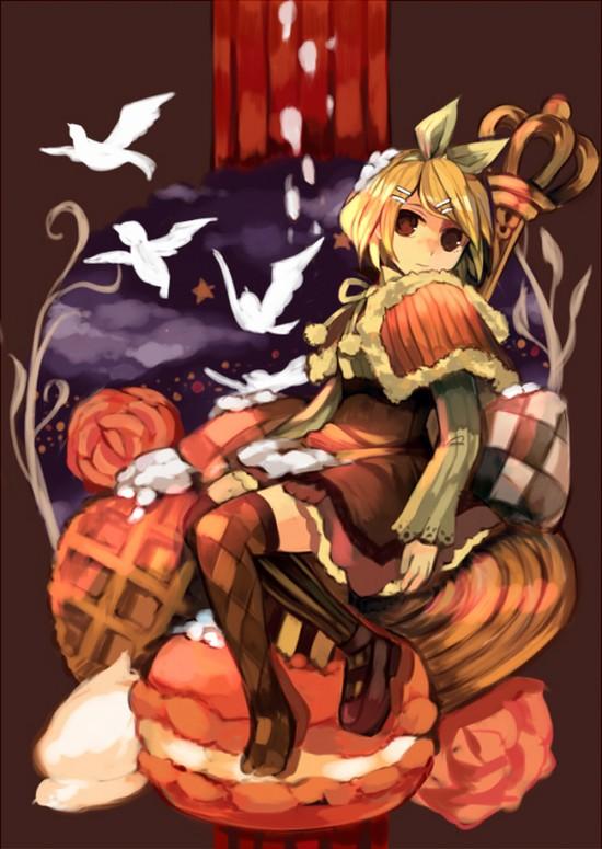Tags: Anime, Pixiv Id 43367, VOCALOID, Kagamine Rin, Mr. Alice, Pixiv