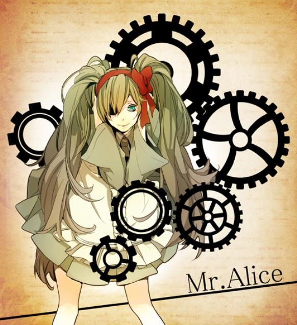 Tags: Anime, Takamura (Pixiv256508), VOCALOID, Hatsune Miku, Fanart, Mr. Alice, Pixiv