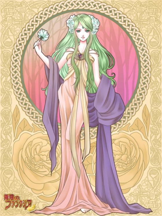 Tags: Anime, Mugen no Fantasia, Art Nouveau, Artist Request, Mugen no Fantasia Race: Driadd