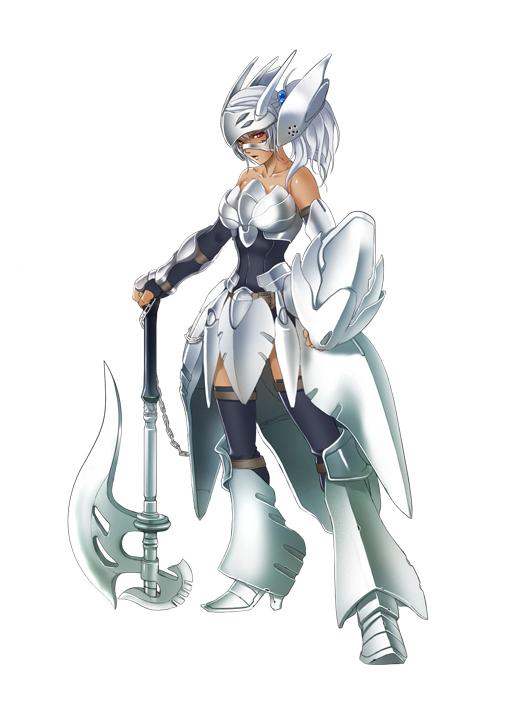 Tags: Anime, Kaxak, BROCCOLI, End Breaker!, Mumei Okka, Original