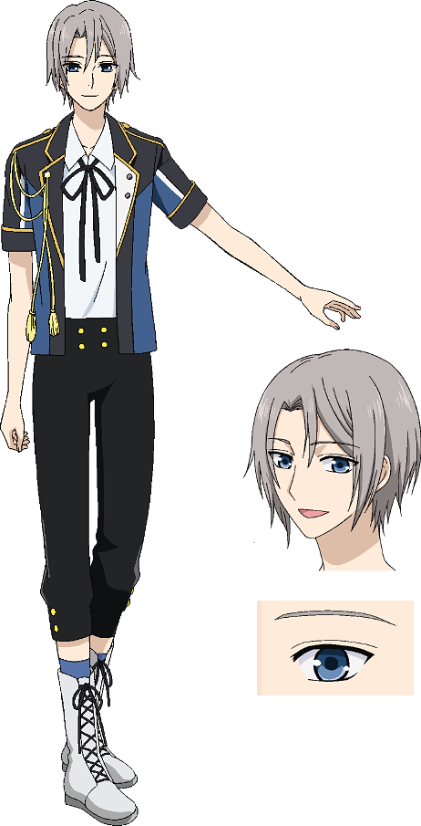 Tags: Anime, Oka Mariko, PRA (Studio), AZ Creative, ALIVE (TsukiPro), TsukiPro The Animation, Munakata Ren, Cover Image, Official Art