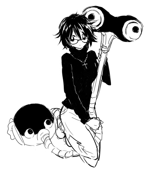 Tags: Anime, Pixiv Id 111894, Hunter x Hunter, Murasaki Shizuku, Deme-chan, Vacuum, Pixiv, Fanart