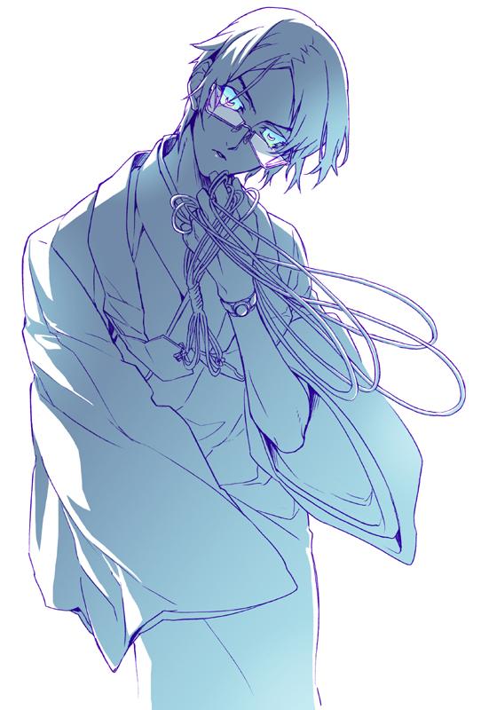 Tags: Anime, Shiki, Muroi Seishin, Monk, Artist Request