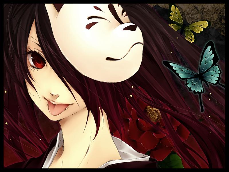 Арты девушек аниме