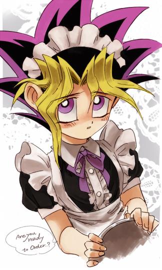 Tags: Anime, Pixiv Id 7167779, Yu-Gi-Oh! Duel Monsters, Yu-Gi-Oh!, Mutou Yuugi, Purple Neckwear, Fanart