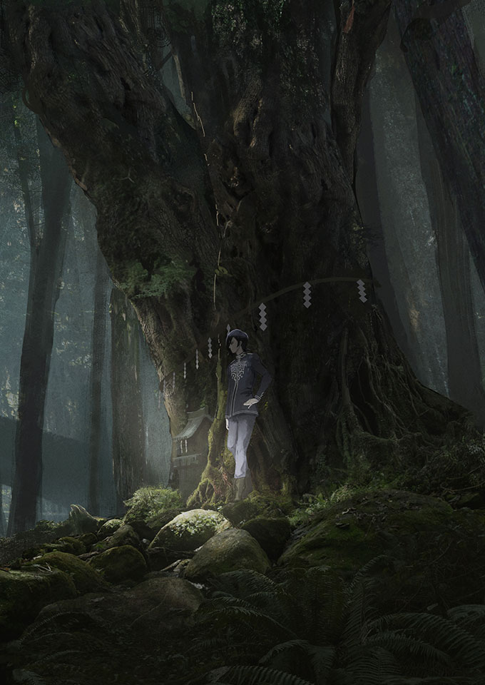 Tags: Anime, Ishida Sui, BROCCOLI, JACKJEANNE, Mutsumi Kai, Under A Tree, Official Art