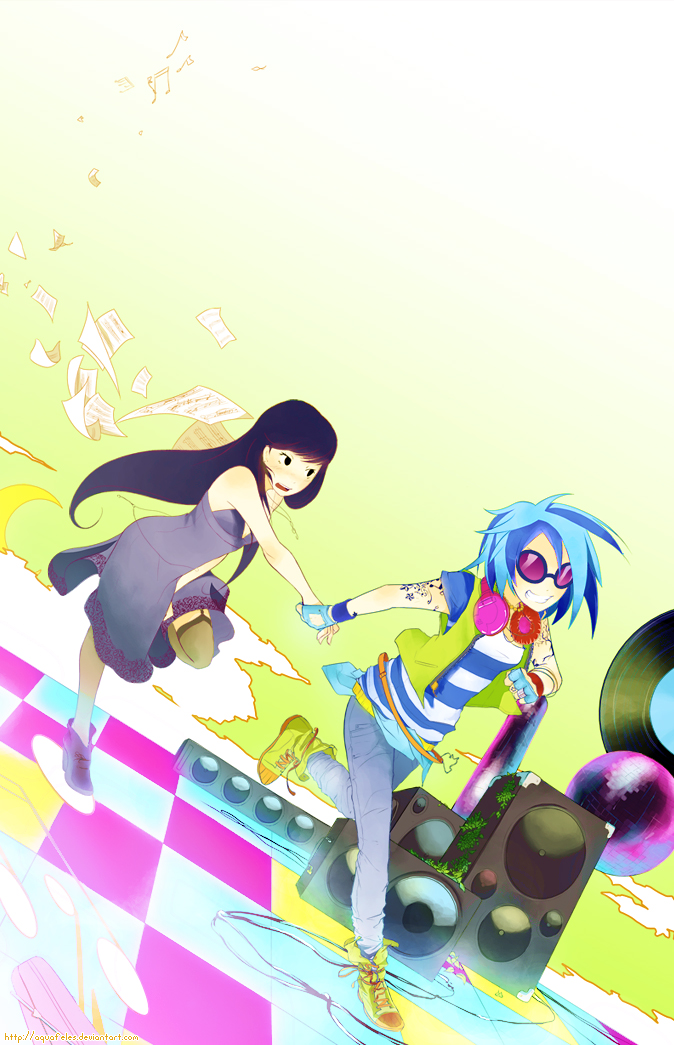 Tags: Anime, Aquafeles, My Little Pony, My Little Pony: Friendship Is Magic, DJ Pon-3