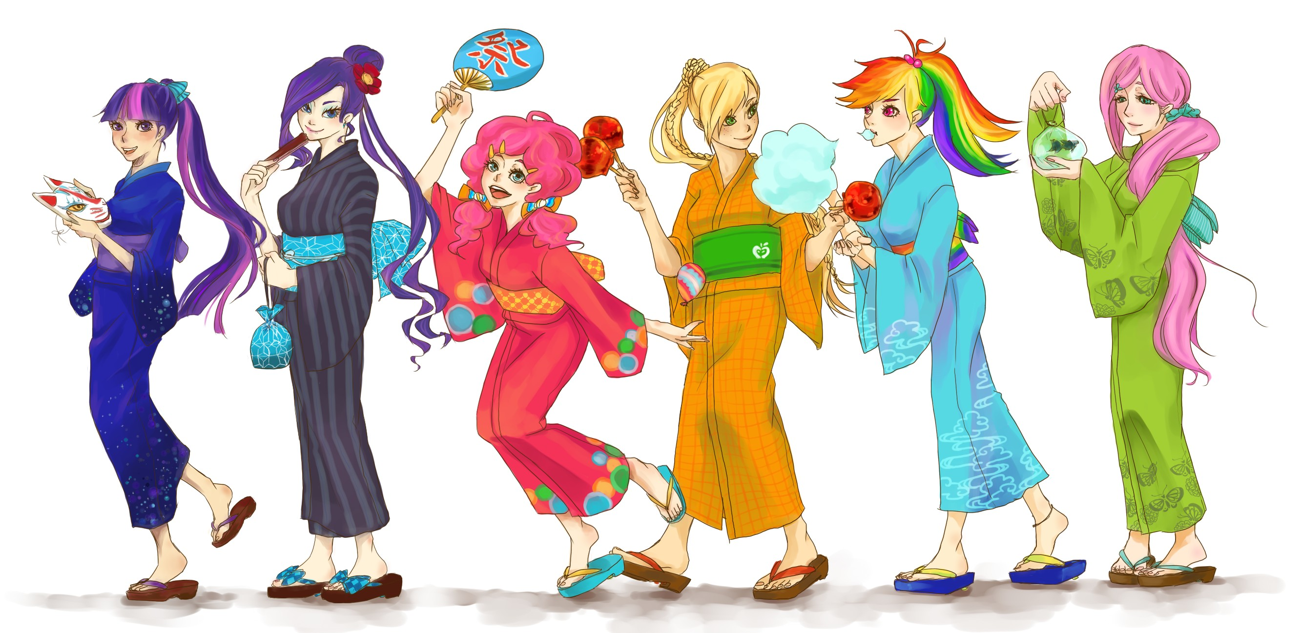 My Little Pony as Humans