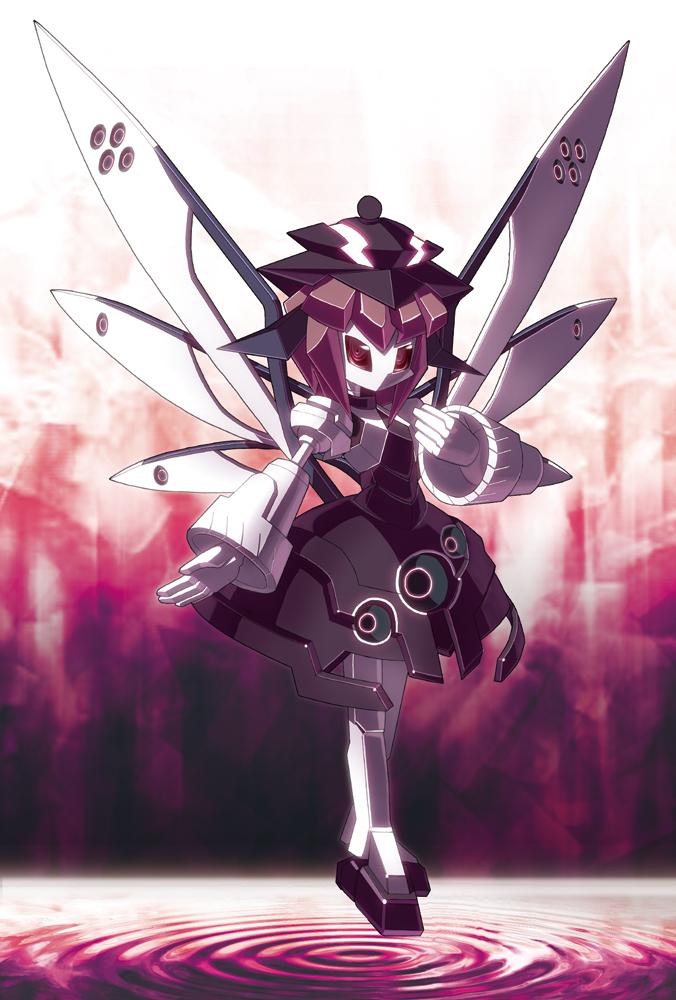 Tags: Anime, Star (Ikaruga), Touhou, Mystia Lorelei, Medarot (Parody)