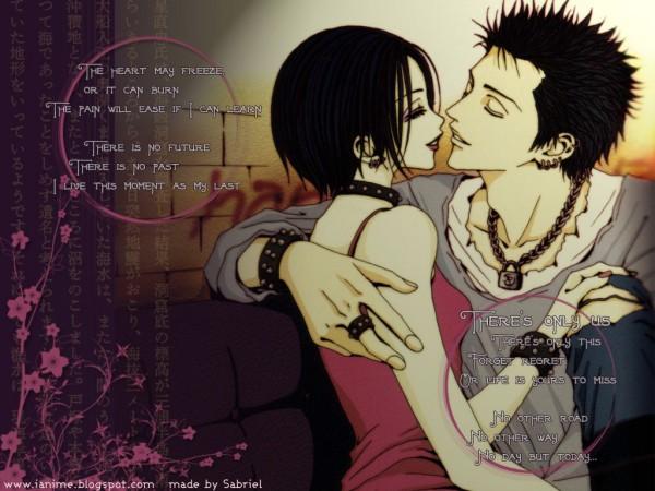 Tags: Anime, Yazawa Ai, NANA (Series), Honjo Ren, Osaki Nana, 1024x768 Wallpaper, Almost Kiss