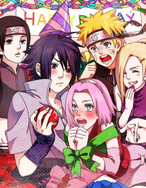 Tags: Anime, Pixiv Id 4368774, NARUTO, Uchiha Sasuke, Uzumaki Naruto, Sai, Haruno Sakura