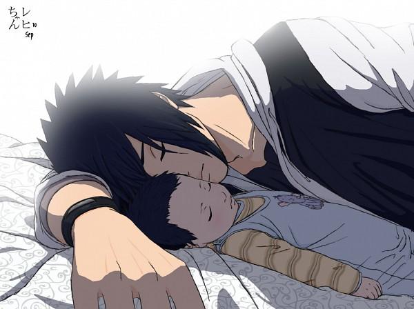 Tags: Anime, Regi-chan, NARUTO, Uchiha Sasuke, Rehi-chan, Baby, Father And Son