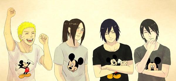 Tags: Anime, Steampunkskulls, Disney, NARUTO, Hyuuga Neji, Uchiha Sasuke, Uzumaki Naruto