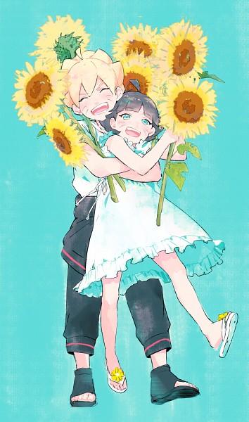 Tags: Anime, Kawara, NARUTO, Uzumaki Boruto, Uzumaki Himawari, ^ ^, Yellow Flower