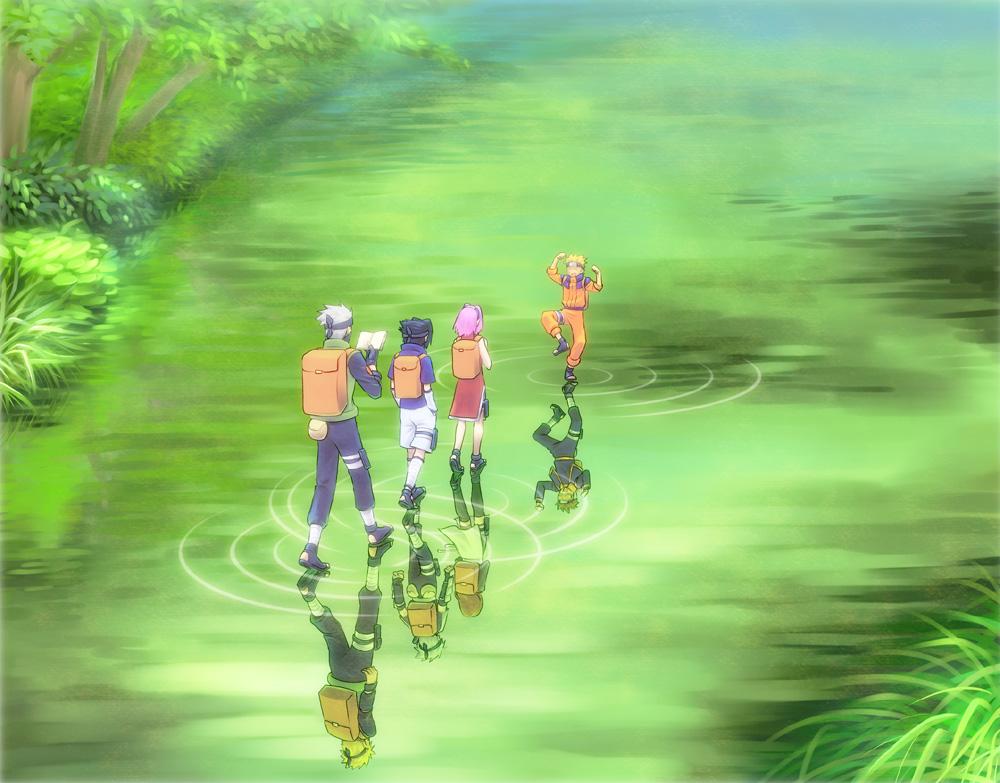 Team 7 - NARUTO - Zerochan Anime Image Board