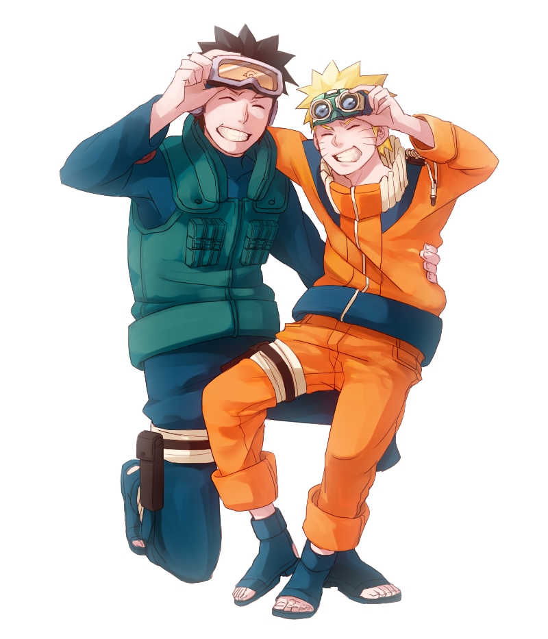 DeviantArt: More Like Naruto with Goggles by Marieella86