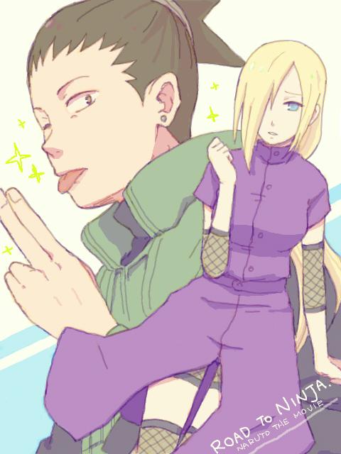 Naruto the Movie  Road to Ninja  NARUTO  Nara Shikamaru  Yamanaka InoNaruto Road To Ninja Shikamaru