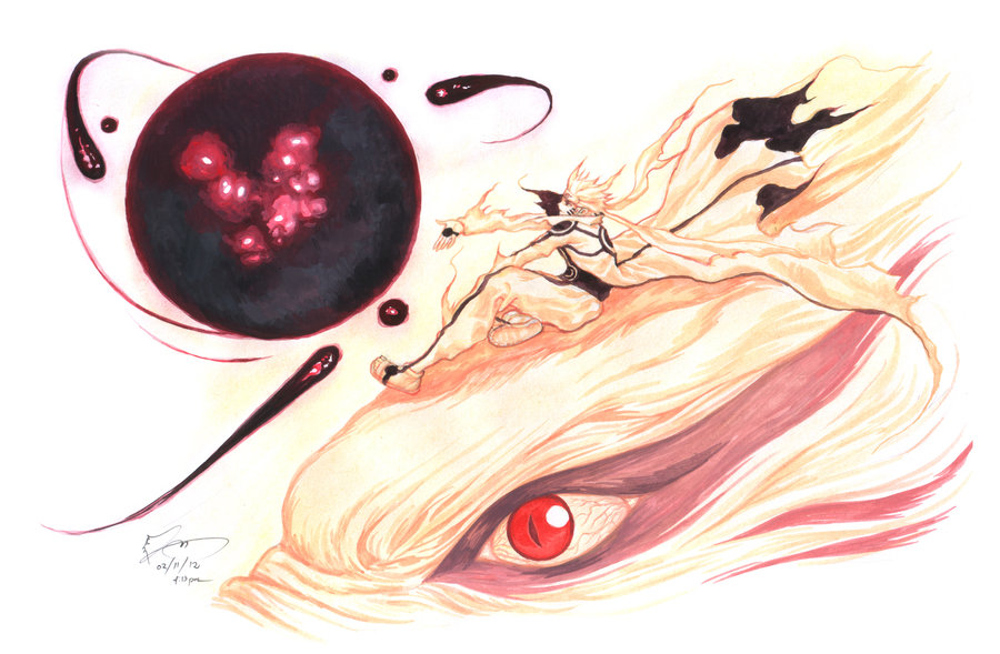 bijuu mode naruto page 2 of 23 zerochan anime image board