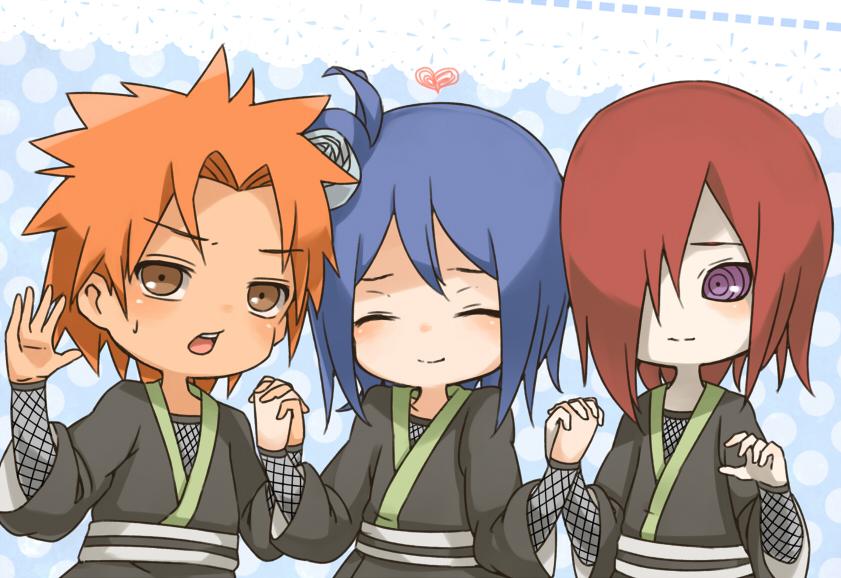 Nagato Konan Yahiko And Jiraiya