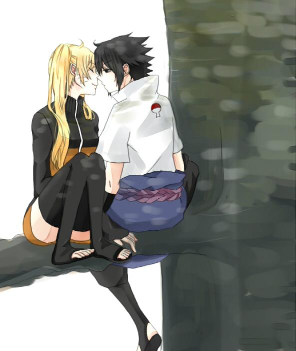 Tags: Anime, Pixiv Id 5975798, NARUTO, Uzumaki Naruto, Uzumaki Naruto (Female), Uchiha Sasuke, Sasunaruko, NaruSasu, Jinchuuriki