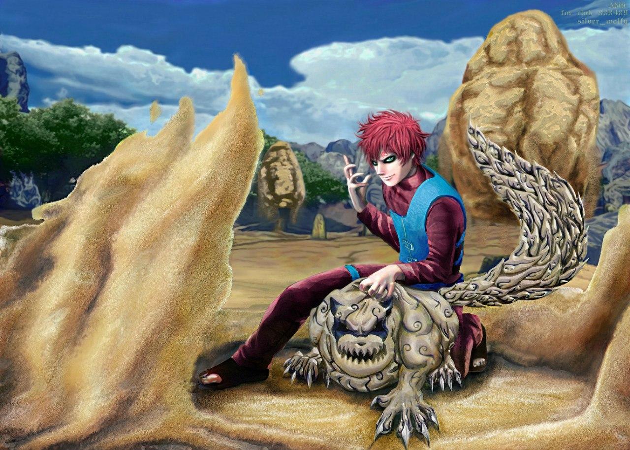 naruto gaara demon Gallery