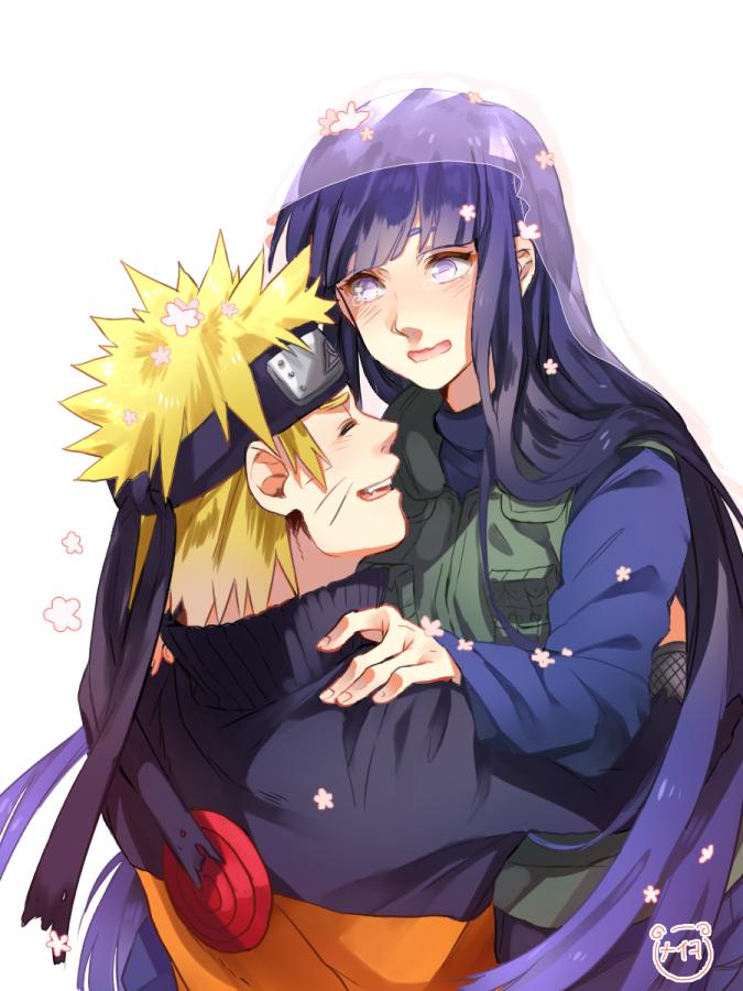 Tags: Anime, Meiko (Puua), NARUTO, Hyuuga Hinata, Uzumaki Naruto, Uzumaki Symbol, Lifting, Flak Jacket, Pixiv, Fanart From Pixiv, PNG Conversion, Fanart, NaruHina