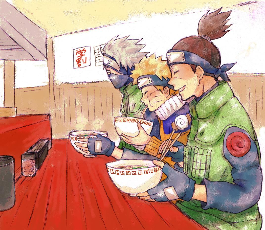 naruto eating ramen coloring pages - photo#22