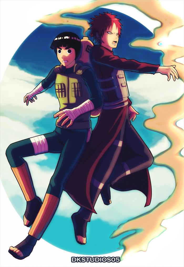 NARUTO/#1756944 - Zerochan Gaara And Rock Lee Yaoi