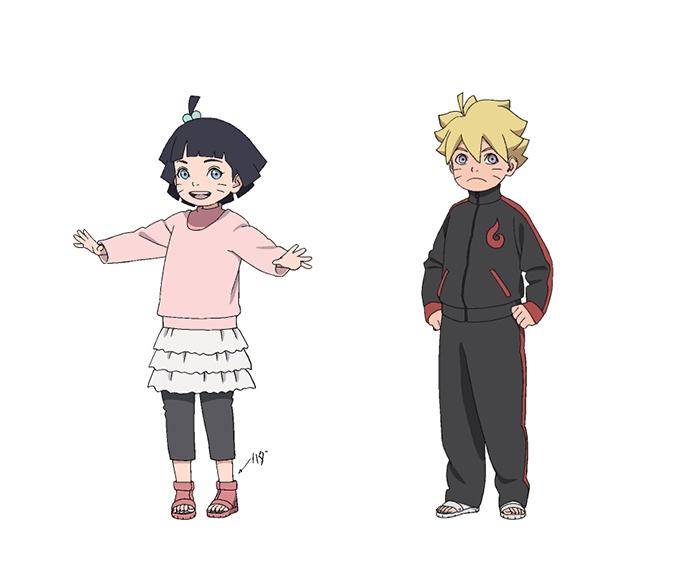 Tags: Anime, Studio Pierrot, Naruto The Movie: The Last, NARUTO, Uzumaki Himawari, Uzumaki Boruto, Official Character Information, Official Art