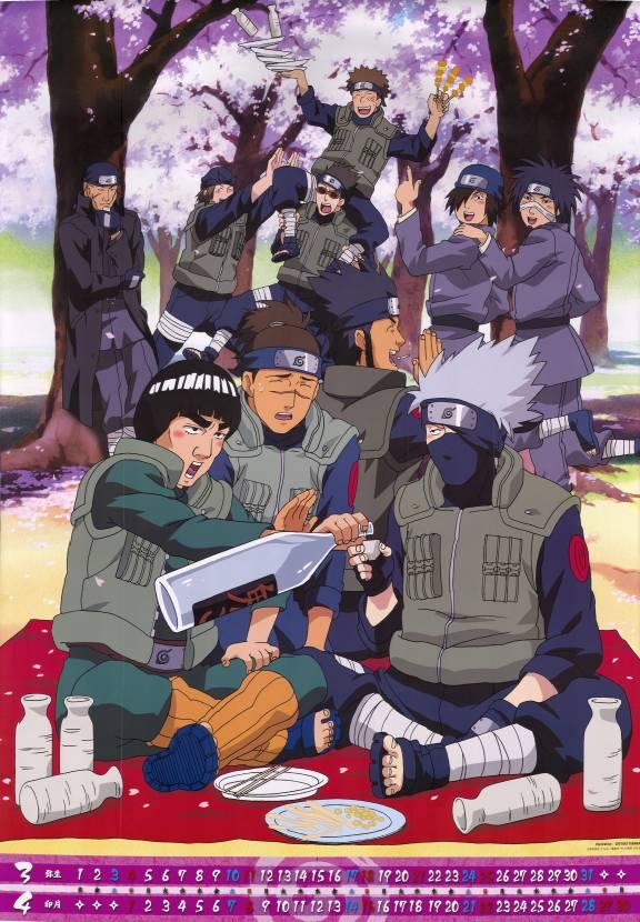 Tags: Anime, Studio Pierrot, NARUTO, Kamizuki Izumo, Might Guy, Shiranui Genma, Umino Iruka, Yamashiro Aoba, Morino Ibiki, Sarutobi Asuma, Namiashi Raidou, Hagane Kotetsu, Hatake Kakashi