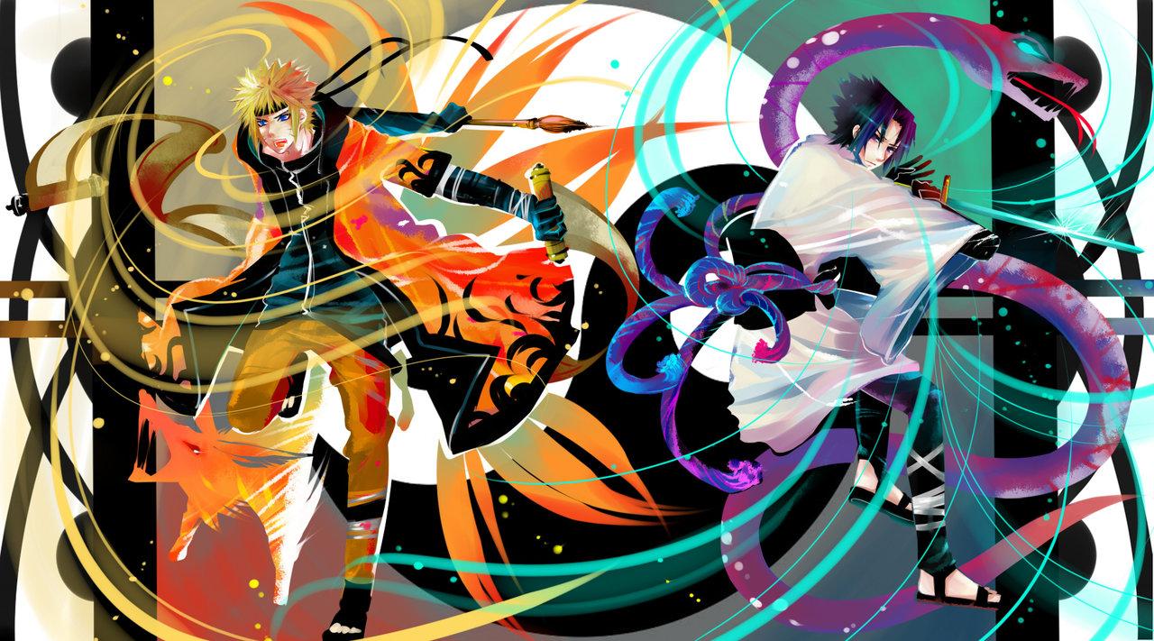 Tags: Anime, NARUTO, Uzumaki Naruto, Uchiha Sasuke, Jinchuuriki