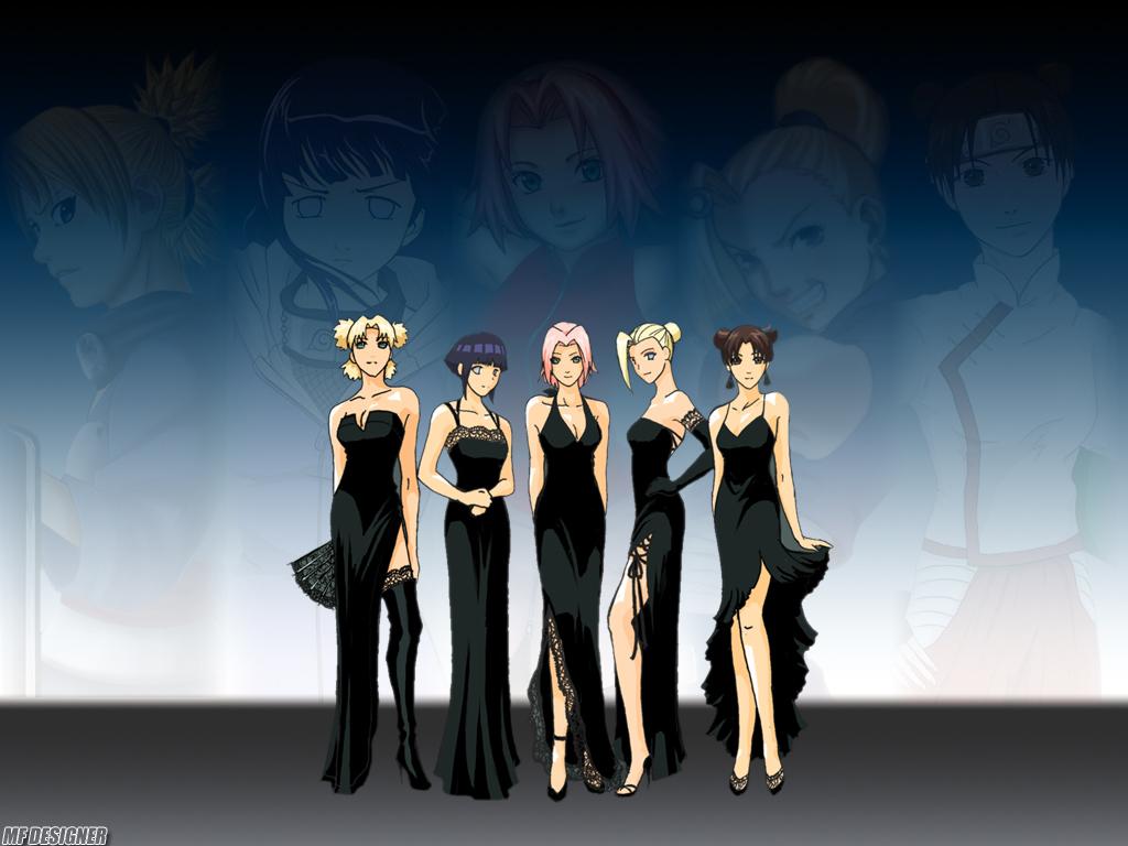 Black dress online naruto