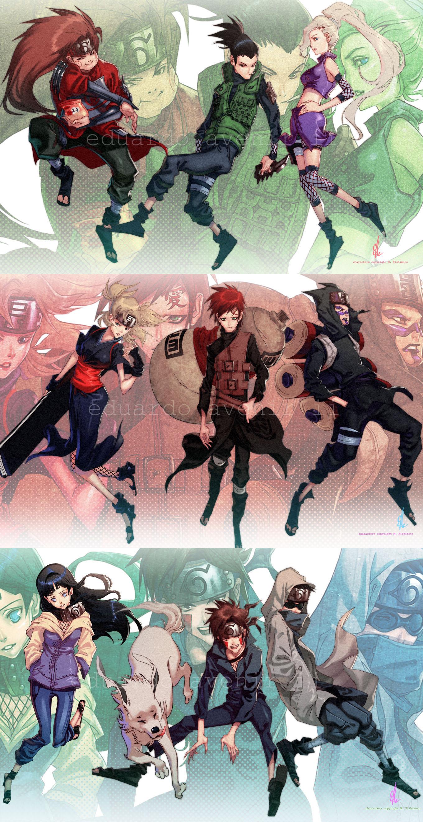 Team 10 Naruto Zerochan Anime Image Board