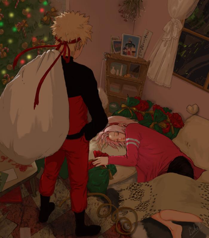 christmas anime naruto - photo #11